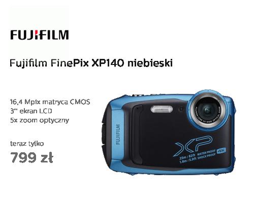 Fujifilm FinePix XP140 niebieski