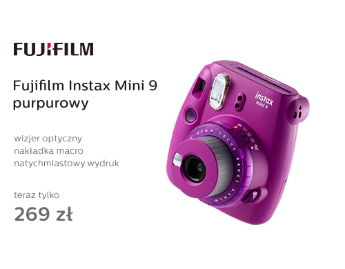 Fujifilm Instax Mini 9 purpurowy