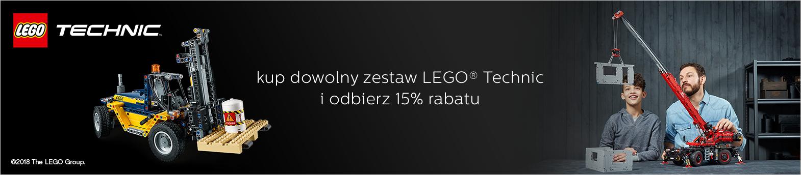 LEGO Technic - 15% na wszystkie zestawy