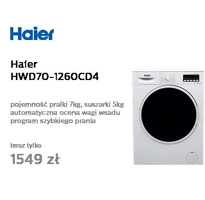Haier HWD70-1260CD4 biała