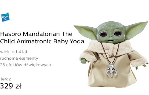 Hasbro Mandalorian The Child Animatronic Baby Yoda