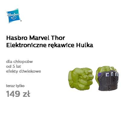 Hasbro Marvel Thor Elektroniczne rękawice Hulka