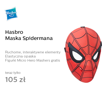 Hasbro Maska Spidermana