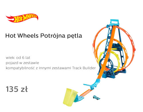 Hot Wheels Potrójna pętla