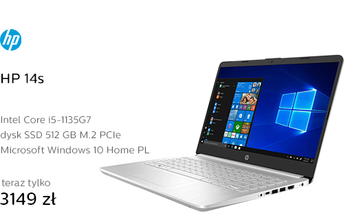 HP 14s i5-1135G7/16GB/512/Win10 IPS