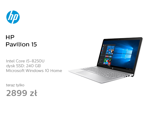 HP Pavilion 15 i5-8250U/8GB/240/Win10 IPS