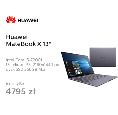 "Huawei MateBook X 13"" i5-7200U/8GB/256SSD/Win10"
