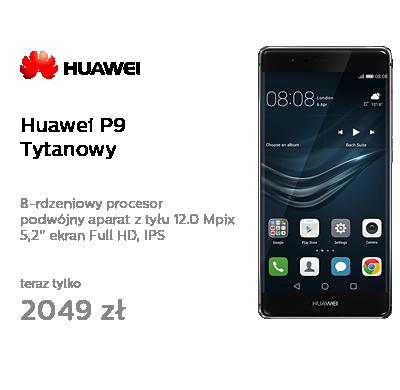 Huawei P9 Tytanowy