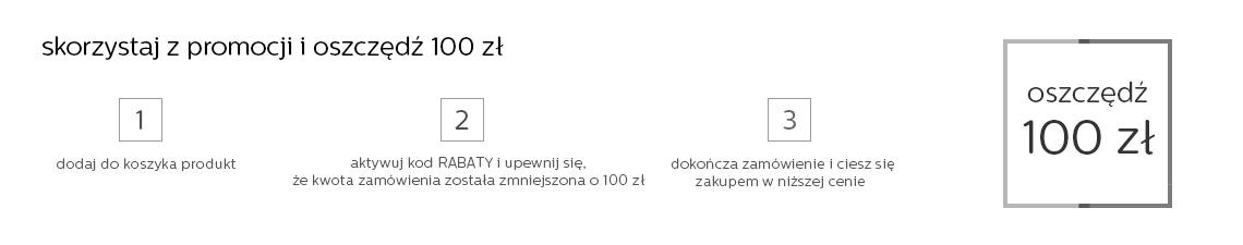 Kody rabatowe - 100zł