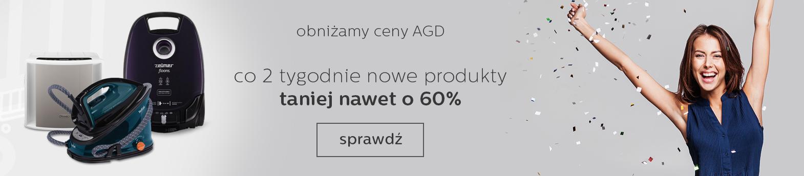wyprzedaż AGD do -60%