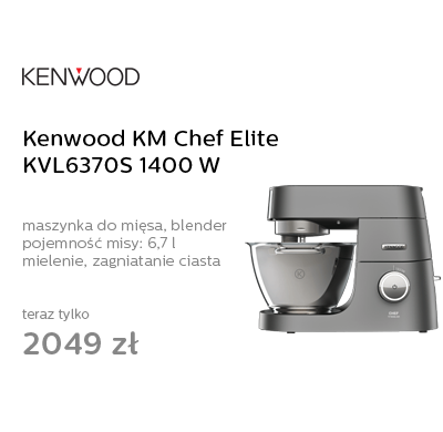 Kenwood KM Chef Elite KVL6370S 1400W