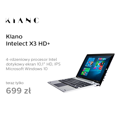 Kiano Intelect X3 HD+ x5-Z8350/4GB/32GB/Windows10