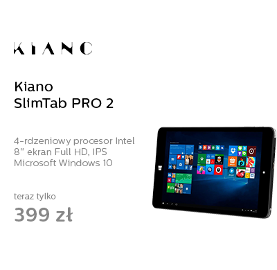 Kiano SlimTab PRO 2 Full HD Z8300/2GB/32GB/Windows10