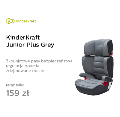 KinderKraft Junior Plus Grey
