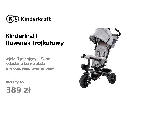 Kinderkraft Rowerek Trójkołowy
