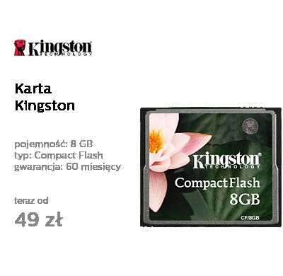 Kingston 8GB Compact Flash