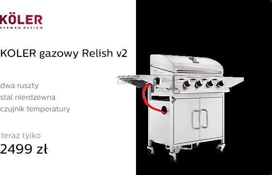 KOLER gazowy Relish v2