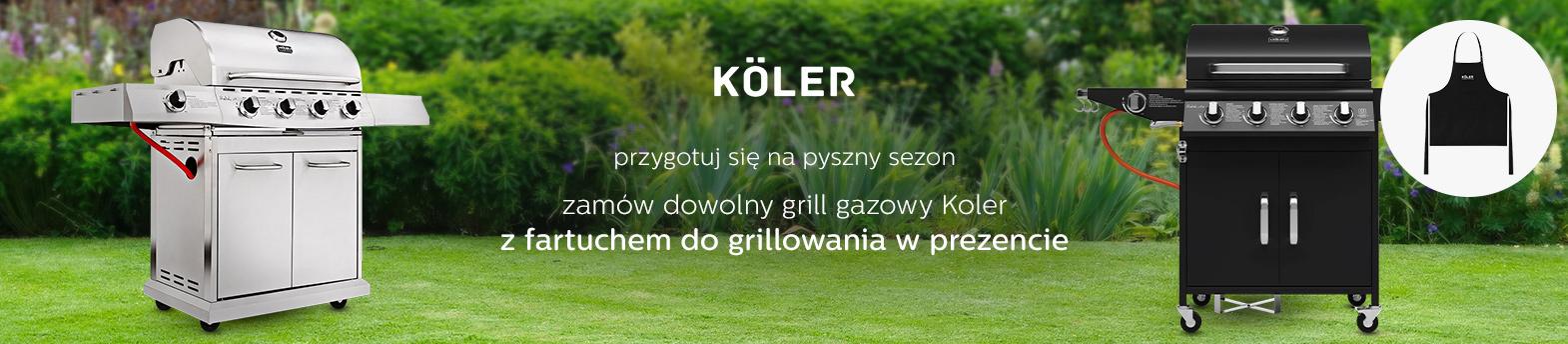 Koler - grille z prezentem