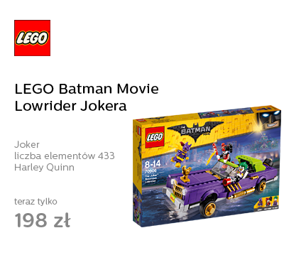 LEGO Batman Movie Lowrider Jokera