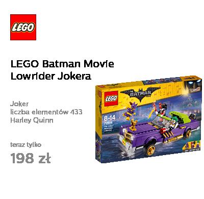LEGO Batman Movie Lowrider Jokera
