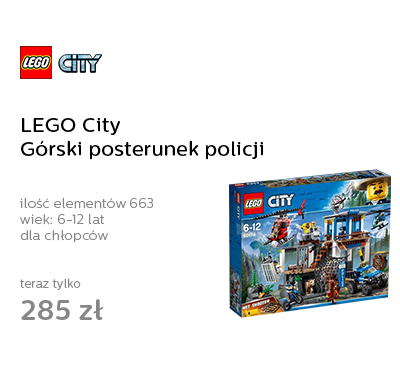 LEGO City Górski posterunek policji