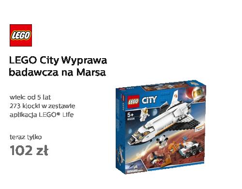 LEGO City Wyprawa badawcza na Marsa