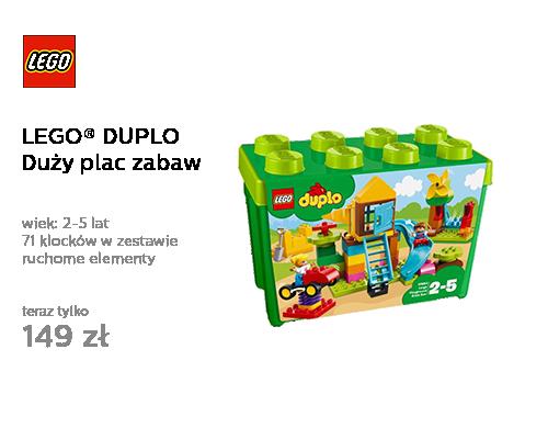 LEGO DUPLO Duży plac zabaw