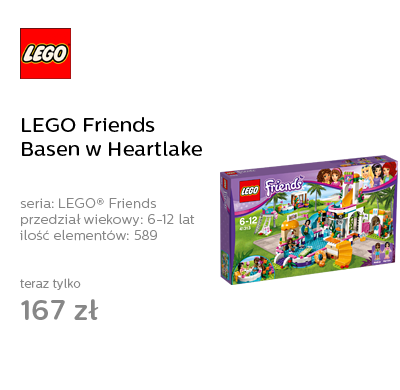LEGO Friends Basen w Heartlake