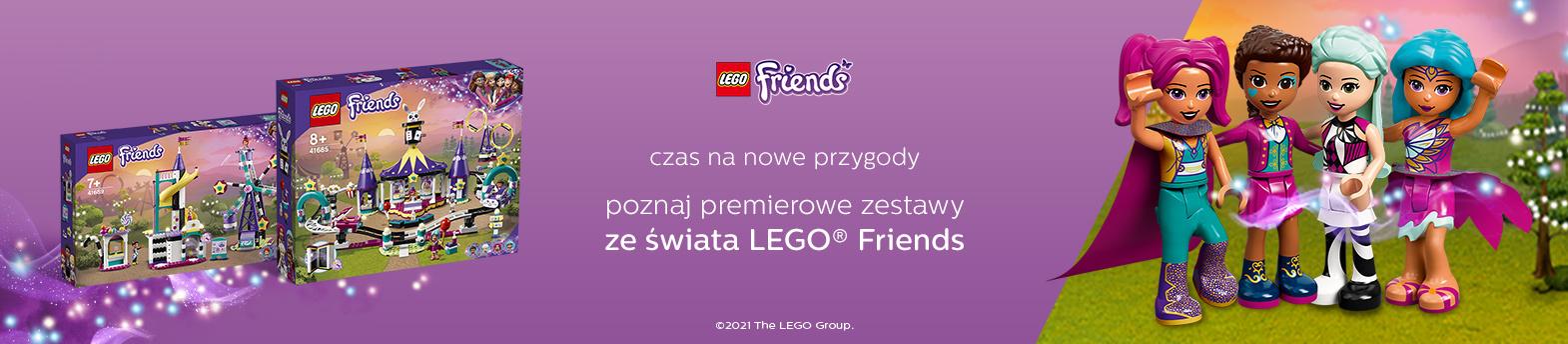 kreatywna zabawa z LEGO® Friends