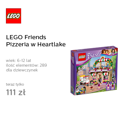 LEGO Friends Pizzeria w Heartlake