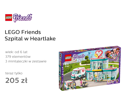 LEGO Friends Szpital w Heartlake