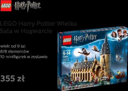 LEGO Harry Potter Wielka Sala w Hogwarcie