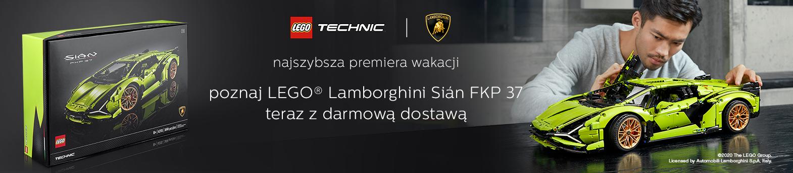 LEGO® Lamborghini Sian - nowość
