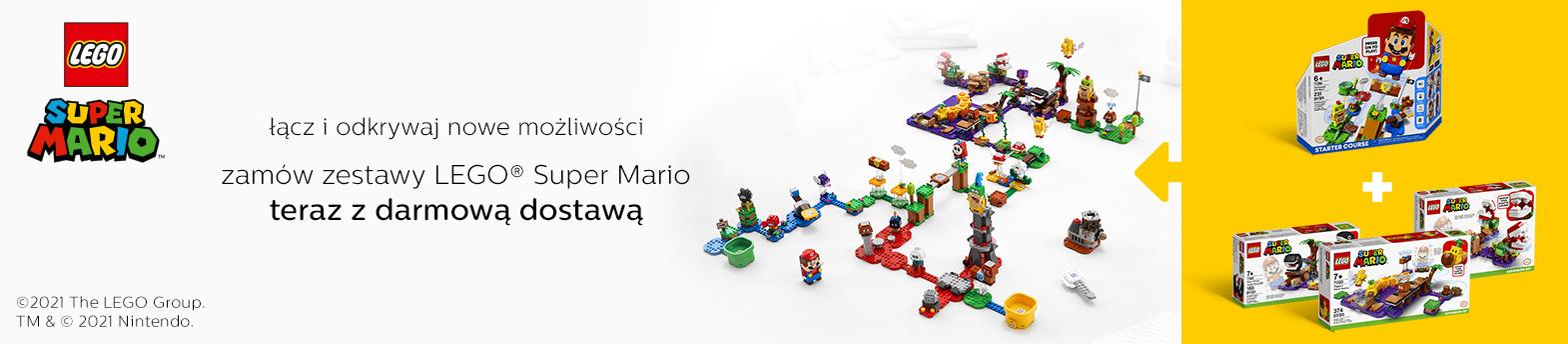 LEGO® Super Mario - darmowa dostawa
