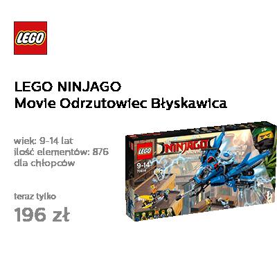 LEGO NINJAGO Movie Odrzutowiec Błyskawica