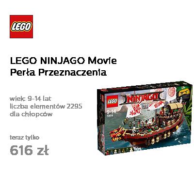 LEGO NINJAGO Movie Perła Przeznaczenia