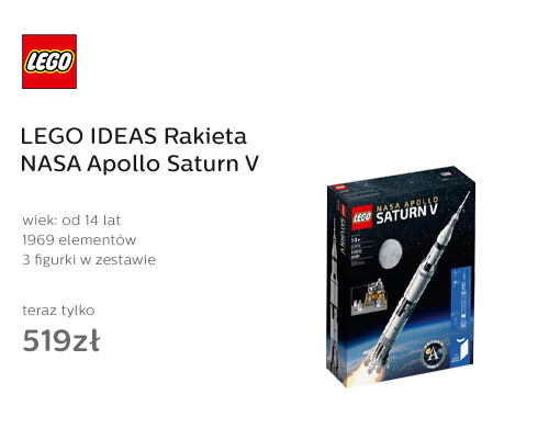 LEGO® IDEAS Rakieta NASA Apollo Saturn V
