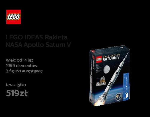 LEGO® IDEAS Rakieta NASA Apollo Saturn V