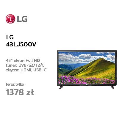 LG 43LJ500V