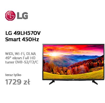 LG 49LH570V Smart FullHD 450Hz WiFi 2xHDMI USB DVB-T2