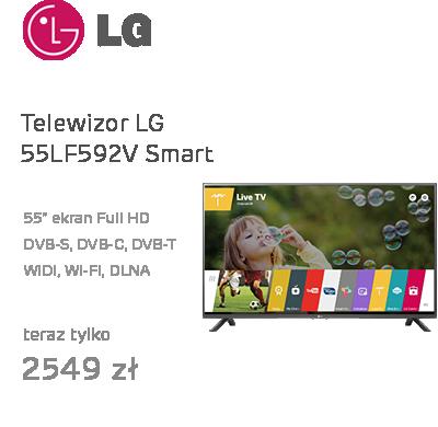 LG 55LF592V Smart FullHD 400Hz WiFi 2xHDMI USB