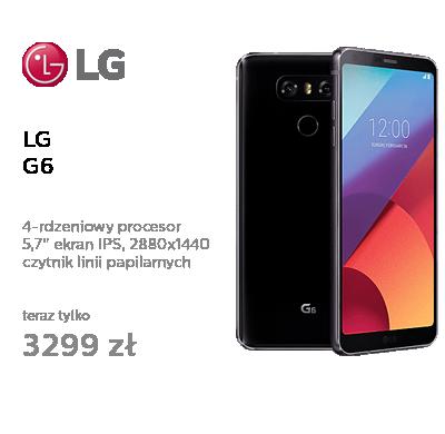 LG G6 czarny