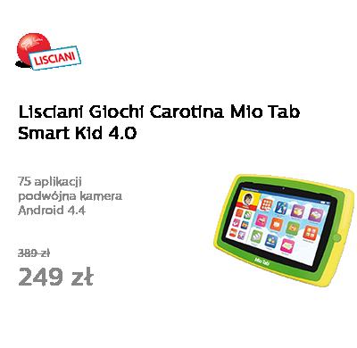 Lisciani Giochi Carotina Mio Tab Smart Kid 4.0