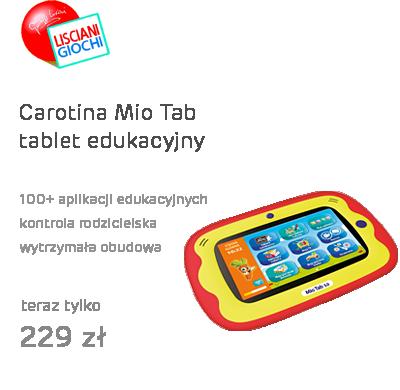 Lisciani Giochi Carotina Mio Tab tablet edukacyjny