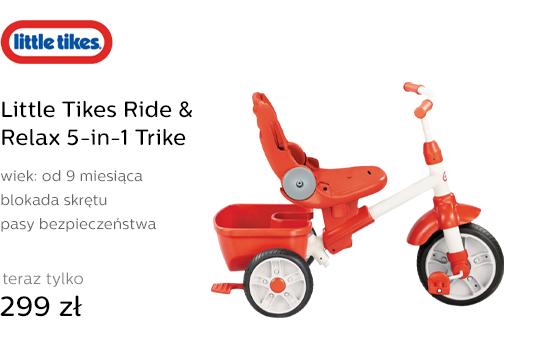 Little Tikes Ride & Relax 5-in-1 Trike