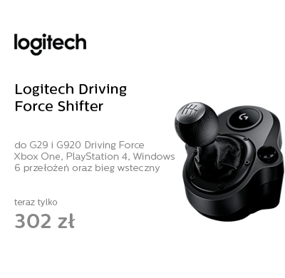 Logitech Driving Force Shifter G29, G920