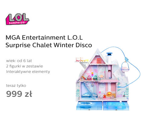 MGA Entertainment L.O.L Surprise Chalet Winter Disco