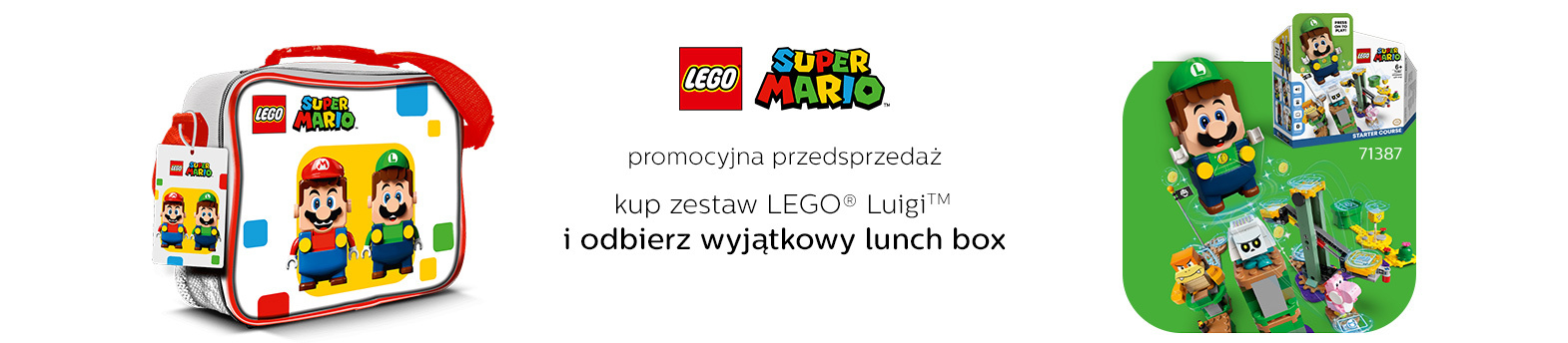 LEGO® Luigi™ - przedsprzedaż