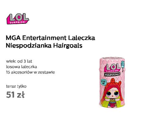 MGA Entertainment L.O.L Laleczka Niespodzianka Hairgoals