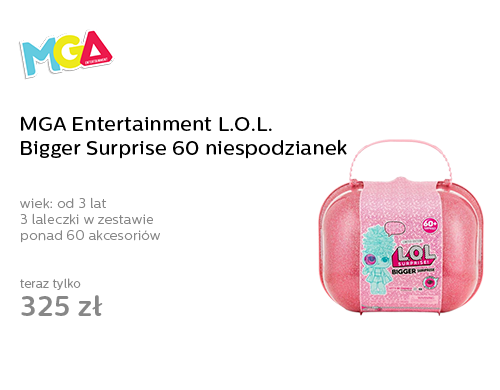 MGA Entertainment L.O.L. Bigger Surprise 60 niespodzianek